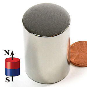 N52 Cms Magnetics Super Strong Neodymium Cylinder Magnets 1x1 1 2