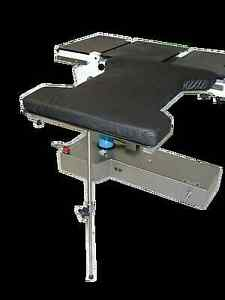 Birkova Ht 6900 Hourglass Shaped Arm Hand Table W 2 Pressure Management Pad