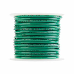 12 Awg Gauge Stranded Thhn Wire Green 100 Ft 0 128 600 Volts Building Wire