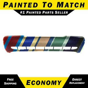 New Painted To Match Front Bumper Cover For 1998 2011 Ford Crown Victoria Vic