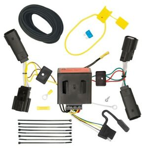 Trailer Wiring Harness Kit For 11 14 Ford Edge All Styles Plug Play T one New