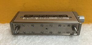 Hp agilent 08568 60118 Dc To 18 0 Ghz 70 Db Sma Programmable Step Attenuator