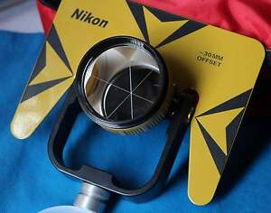 New Single Prism Prisms For Nikon Total Station Stations