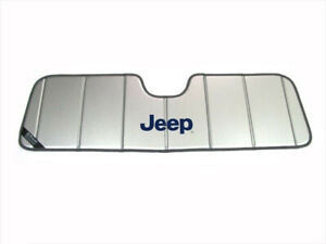 1997 2018 Jeep Wrangler Jk Windshield Sun Shade Visor Window Mopar Oem New