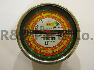 Tachometer For Farmall Ih 756 766 1256 1456 2706 2756 21256 66748c1 388588r91
