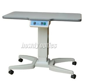 H480 Optical Motorized Power Table Instrument Table For 2 Equipments 96x48cm