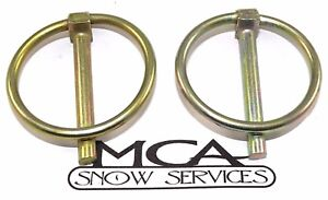 Western Meyer Snow Plow Pin 2 3 16 Linch Pins 93042 20283 20420