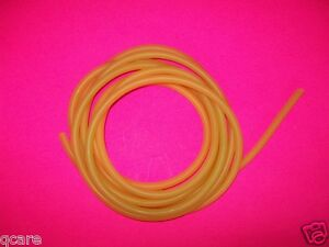 Price Per Foot 1 4 I d X 1 32 Wall Latex Surgical Rubber Tubing Amber Thin Wal