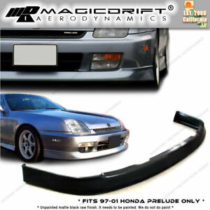 For 97 98 99 00 01 Honda Prelude Oem Front Chin Lower Bumper Lip urethane