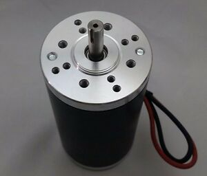 12v dc Permanent magnet Electrical motor Servo Cnc Brush Project Keyed 5000 rpm