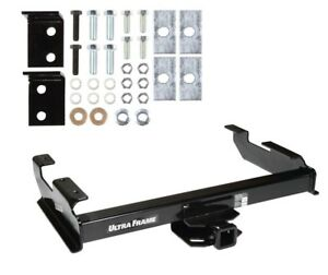 Trailer Tow Hitch For 88 00 Chevy C K 1500 2500 3500 2 Receiver Class V New