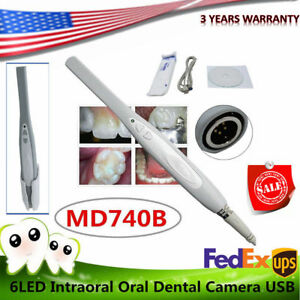 Md740b Dental Camera Intraoral 1 3mp Digital Usb Imaging Clear Image software Us
