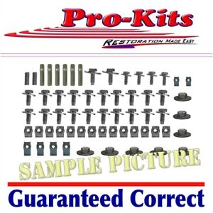 Mopar 67 68 69 70 71 72 Demon Dart Swinger Duster Scamp Valiant Fender Bolts Kit