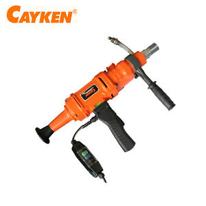 Cayken 6 Hand Held Diamond Core Drill With 2 Speed Concrete Drill Scy 1520 2bs