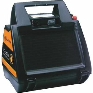 Gallagher G344404 S17 Portable 6 volt Fence Energizer With Solar Panel 10 Acres