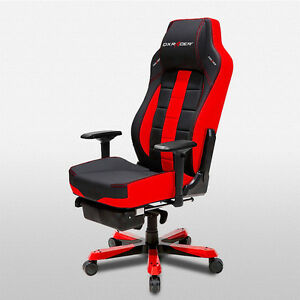 Dxracer Office Chairs Oh ca120 nr Ergonomic Desk Computer Chair Leg Rest