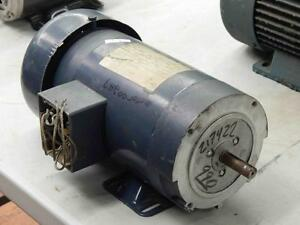 45 Magnetek Variable Speed Dc Motor 21742200 Cat D712 180armv 1 hp Frame 56c