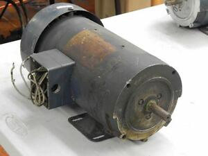 44 Magnetek Variable Speed Dc Motor 21742200 Cat D712 180armv 1 hp Frame 56c