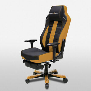 Dxracer Office Chairs Oh ca120 nc Ergonomic Desk Computer Chair Leg Rest