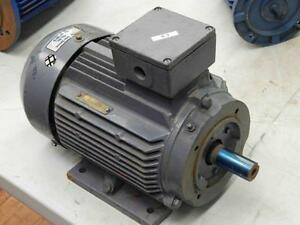 57 Leeson Iec Electric Motor 193097 60 C100t34fz2c 4 hp Frame Df100lc 3 kw 3495