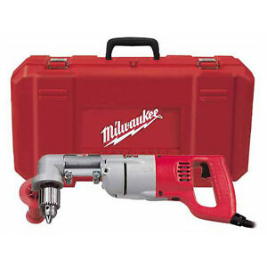 Milwaukee 1 2 D handle Right Angle Drill Kit 3107 6