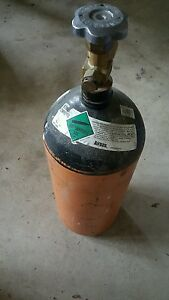 40 Cubic Feet Nitrogen Tank Used Hvac Brazing