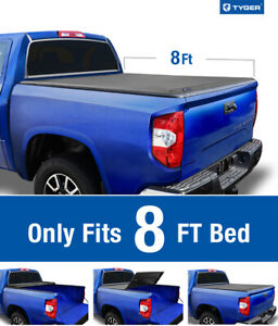Fit 2014 2020 Toyota Tundra 8ft 96in Bed Tyger T3 Tri fold Tonneau Cover