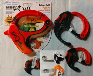 Plastic Adjustable Cable Cuffs clamps Mini Small Medium Large Or Mega New