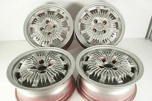 Jdm Mugen Cf 48 Wheels Rims 6jj 14 38 Pcd 100 For Honda Civic Integra Etc Rare