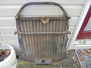 1940 Cadillac Grille Shutters And Mounting With Lever I Think