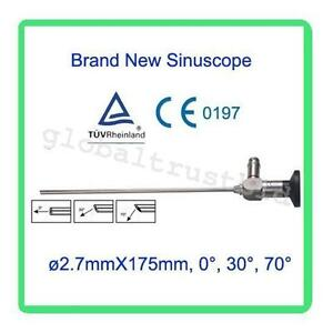 Endoscope 2 7x175mm Arthroscope Connector Fit Storz Compatible Ce 0 30 70 90