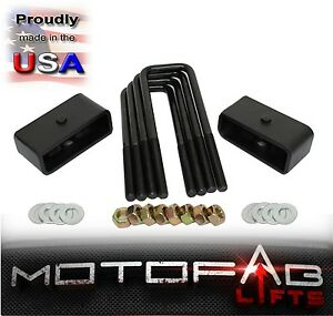 1 Rear Leveling Lift Kit For 2007 2018 Chevy Silverado Sierra Gmc Made In Usa