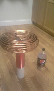 3 5 X 14 Copper Tubing Toroid For Tesla Coils High Voltage Projects Aluminum