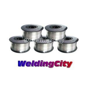 Weldingcity Stainless 308l Mig Welding Wire Er308l 023 0 6mm 2 lb Roll 5pk