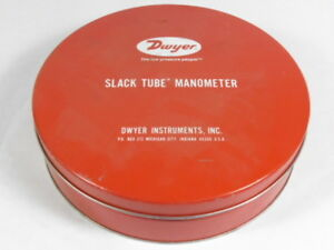 Dwyer 1211 48 Slack Tube Manometer 50psi 130f Used