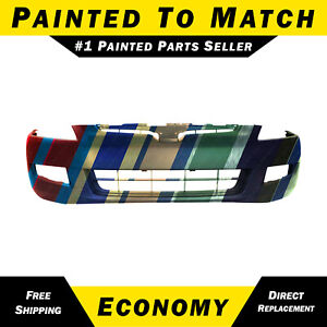 New Painted To Match Front Bumper Cover For 2003 2004 2005 Honda Accord Coupe