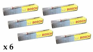 6 X Bosch Diesel Heater Glow Plugs For Bmw E39 525d 525 325 Tds Touring 97 00