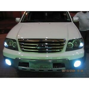2005 2007 2007 Ford Escape Halo Fog Lamp Driving Light Kit Angel Eyes