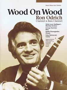 Wood on Wood Ron Odrich - Clarinet & Bass Clarinet Music Minus One Boo 000152967