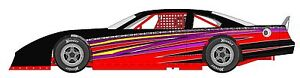 Race Car Wrap Graphics Decals Imca Late Model Dirt 18