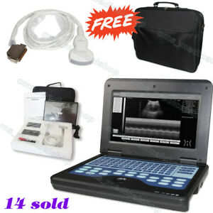 Fda Portable Notebook Laptop Ultrasound Machine Scanner System 3 5mhz Convex