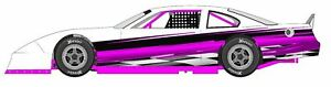Race Car Wrap Graphics Decals Imca Late Model Dirt 25