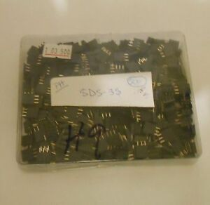 3 Pin Female Gold Plated Header Pc Mount Lot Of 500 Pieces Pn Sds 3s