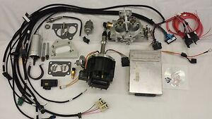 Jeep Fuel Injection Kit For 4 2l 258 Ci Complete Tbi Fuel Efi Conversion Kit
