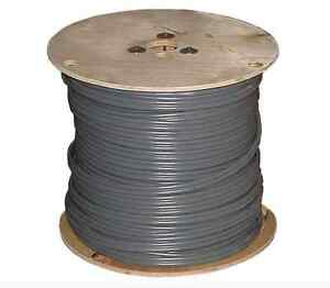 1000 Foot Roll 12 3 Awg Ufb Gauge Outdoor Burial Electrical Copper wire Cable