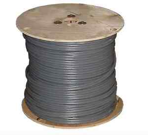 500 Roll 10 2 Awg Uf b Gauge Outdoor Burial Electrical feeder Copper wire Cable