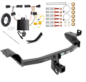 2014 2017 Jeep Cherokee Complete Trailer Hitch Package W Wiring Kit Ball