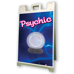 Psychic Sidewalk A Frame 24 x36 Outdoor Vinyl Retail Sign