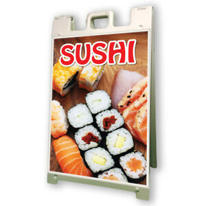 Sushi Sidewalk A Frame 24 x36 Concession Stand Outdoor