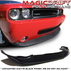 08 09 10 Dodge Challenger Urethane Front Bumper Lip Chin Spoiler Mdp Style